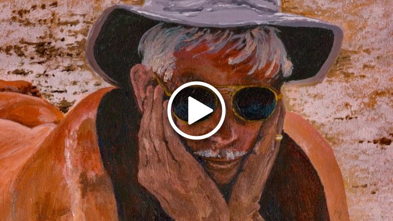Krievins art show cover