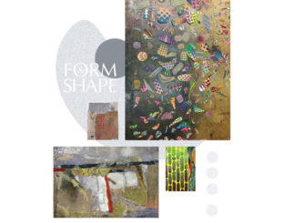 Poster for the Form & Shape exhibit