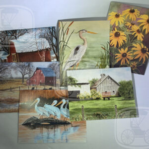 My Kansas Home notecard set