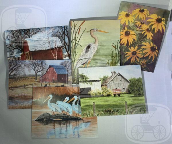 My Kansas Home notecard set