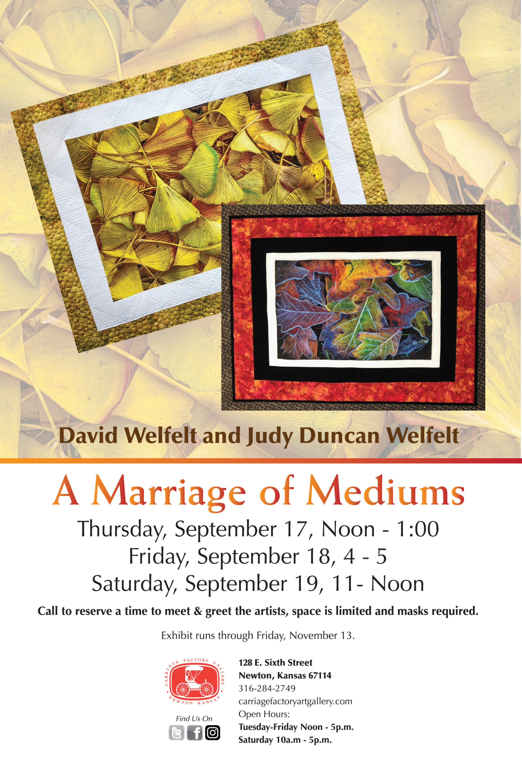 Poster for A Marriage of Mediums