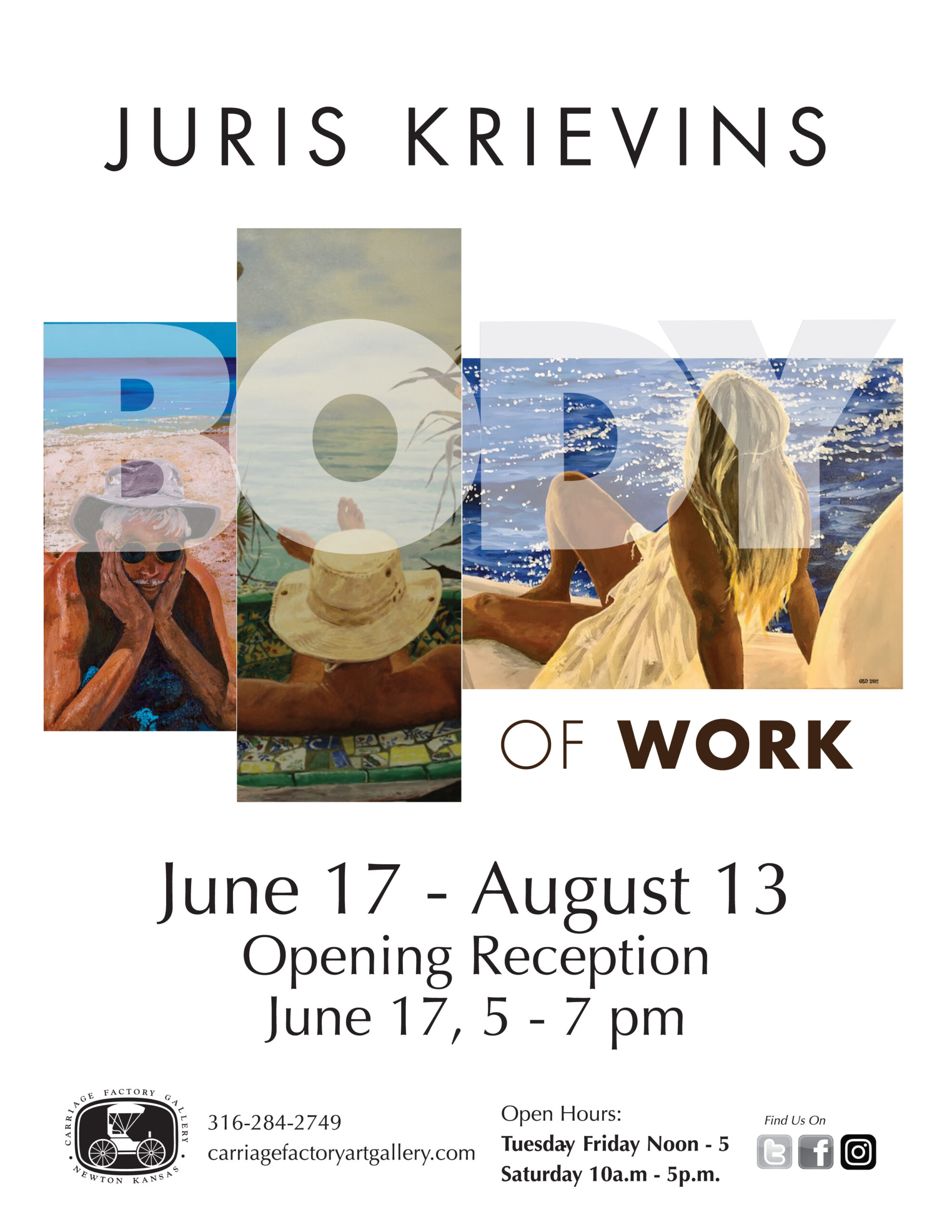 posters for body of work by juris krievins